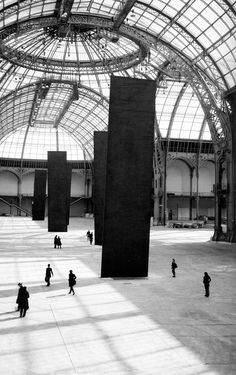 Richard Serra, Promenade. Monumenta 2007. Grand Palais, Paris