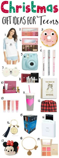 The BEST Christmas gift ideas for teens!