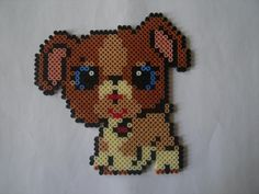 Littlest Pet Shop dog hama perler by Isabelle8119