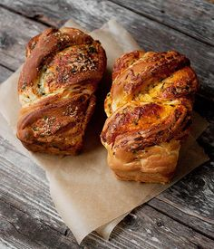 Soft Cheese Bread Two Ways.