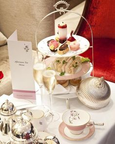 Afternoon Tea/ Royal Horseguards, London Tablescape Centerpiece www.tablescapesbydesign.com https://www.facebook.com/pages/Tablescapes-By-Design/129811416695