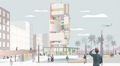 Gautier Rey architecture portfolio | Tour 892