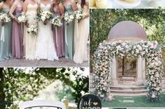 Pastel Wedding Colour Palette { Cream,Lilac,Mauve and Mint green wedding } fabmood.com #wedding #springwedding #weddingcolor #mauvewedding #lilacwedding #pastelwedding