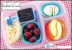 BentoLunch.net - What's for lunch at our house: Breakfast for Lunch Bento