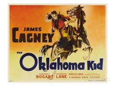 The Oklahoma Kid, James Cagney, 1939 Poster - AllPosters.at