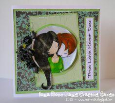 OOAK  Twilight Handmade Vampire Greeting Card by IonaRose on Etsy, £3.00