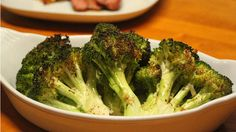 Oven-Roasted+Broccoli Side Dish Recipes, Veggie Recipes, Salad Recipes, Healthy Recipes, Cooking Recipes, Food Network Recipes, Real Food Recipes, Dinner Recipes, Rachel Ray Recipes