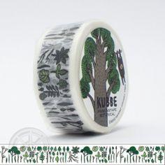 KUBBE Masking tape Botanical