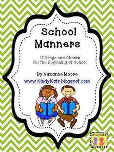 School Manners/Behavior