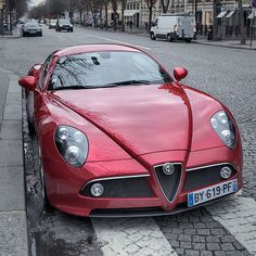 Alfa Roméo 8C Competizione One of the same most elegant cars out there.