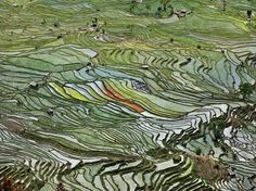 L'acqua trasforma i paesaggi, il fotoprogetto di Burtynsky