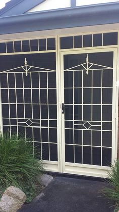 Steel Security Door With Stainless Steel Mesh Installed In Cheltenham.    SECURE MY HOME   Pinterest   Steel Security Doors, Security Door And Steel  Doors