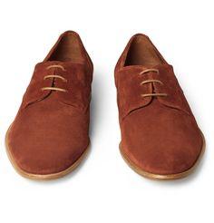 FolkFinlay Suede Derby Shoes