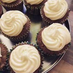 Sunday morning baking - carrot cupcakes with lemon cream cheese icing #inthekitchen #ambaking #homemade #cupcakes #carrotcupcake #sweettreat #sweettooth
