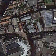 Aerial view of De Drie Fleschjes