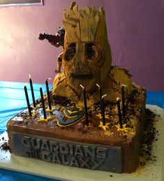 guardians of the galaxy wedding cake galaxy cake rockets and rocket raccoon on 15009