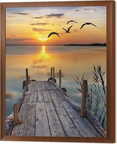 The old dock ends at nature s wonderous sunset over the still waters Watercolor Landscape Paintings, Seascape Paintings, Watercolor Artists, Indian Paintings, Oil Paintings, Painting Art, Landscape Photography Tips, Nature Photography, Photography Gloves