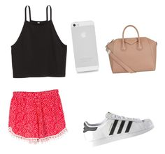 """Summer shopping"" by newt1504 on Polyvore featuring WithChic, Givenchy and adidas"