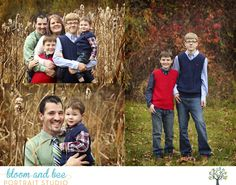 Fall outdoor family session - siblings - bloom and bee portraits - guilderland NY
