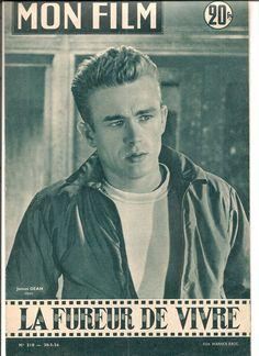 James Dean . Magazine Mon film . Très rare