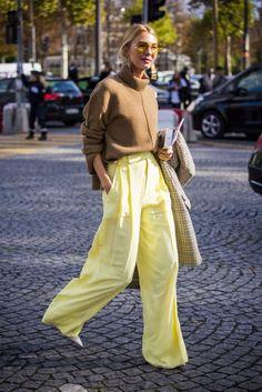 Introducirás el amarillo en tus looks