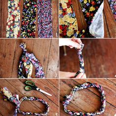 Braided DIY headband from A Beautiful Mess