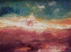 """Saatchi Art Artist Lorien Eck; Painting, """"Ciel/Mer XIII"""" #art"""