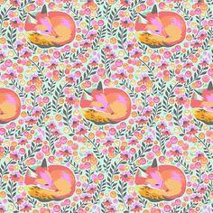Tula Pink - Chipper Fox Nap Sorbet