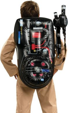 costume accessory: ghostbuster backpack