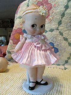 Porcelain Kewpie Doll Danbury Mint/Jesco #Dolls
