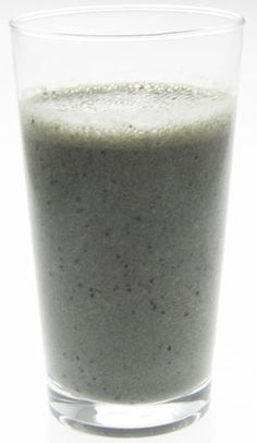 Blueberry almond detox smoothie.  Also delicious (and super healthy) with tropical fruits in coconut milk