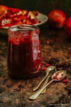 marmellata d melagrana-pomegranate jam