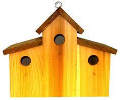 Wooden Bird Condos On Pinterest Birdhouses Bird Houses