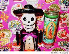 dia de los muertos virgin altar mexico - Google Search