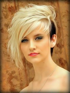 Messy Pixie Cut with Fringe. This is so cute, but I could never see myself with hair this short See more http://www.womensandmenshairstyle.n...