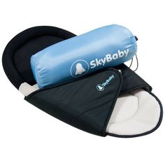 Create a pleasant sleeping environment for your baby with the SkyBaby travel mattress. It includes a padded pillow section and wings that hug your baby for extra comfort. This convenient mattress can