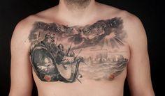 Wikinger Tattoo Runen Schrift Motiv