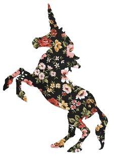 unicornio,flor