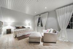 Seinän väri Bedroom, Decor, Home, Curtains