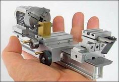 SMALLEST WORKING LATHE MACHINE IN THE WORLD