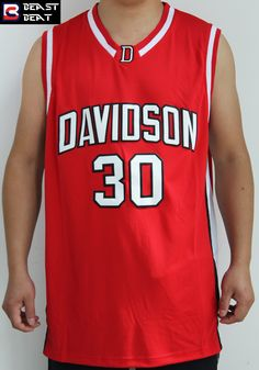 Aliexpress.com   Buy Beast Beat Curry  30 Davidson Student Basketball  Jerseys White Red Colors Throwback Young Stephen Jerseys from Reliable  basketball ... 31fcaf093