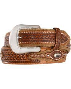 Tony Lama Classic Country Western Belt, Tan, hi-res Cowboy Boot Store, Cowboy Boots, Western Belts, Western Wear, Boots Store, Boot Shop, Leather Belts, Cuff Bracelets, Mens Fashion