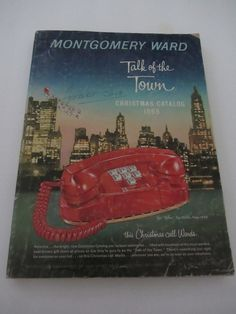 Montgomery Ward Christmas Catalog, 1965