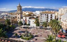 Rincones de #Andalucía: Plaza Alta de Algeciras ( #Cádiz) / Places of #Andalusia: Plaza Alta, Algeciras ( #Cadiz)