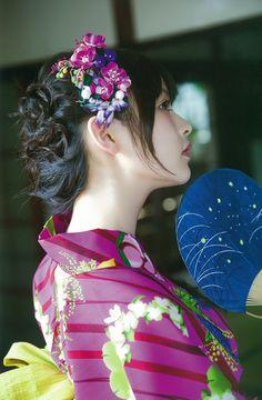 Voice Actor, Yukata, Beauty Women, Ulzzang, Idol, Kimono, Cosplay, Asian, Actresses