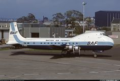 Aviation Traders ATL-98 Carvair @ Glasgow, 1973.