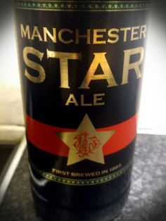 Manchester Star Ale. Brewed by JW Lees to a recipe from 1884.