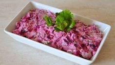 Παντζαροσαλάτα σπέσιαλ - cretangastronomy.gr Cabbage, Beef, Vegetables, Cooking, Ethnic Recipes, Ethnic Food, Crete, Dips, Salads