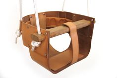 Infant/Toddler Swing Natural by JepsenLeatherGoods on Etsy