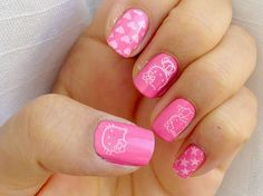 10 cutest hello kitty nail art ideas for kids at heart prinsesfo Images